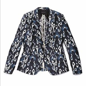 Rag and Bone Brocade Ikat Paisley Blazer Jacket
